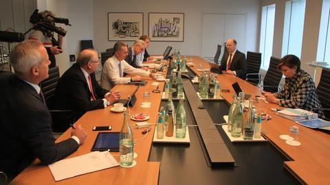 Vorstandssitzung bei der Deutschen Bank