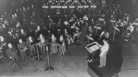 Frankfurter Rundfunk-Sinfonie-Orchester unter der Leitung von Hans Rosbaud, 1932