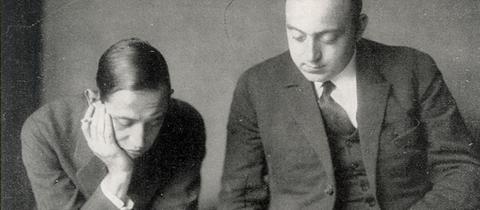 Dr. Hans Flesch und Dr. Wilhelm Schüller
