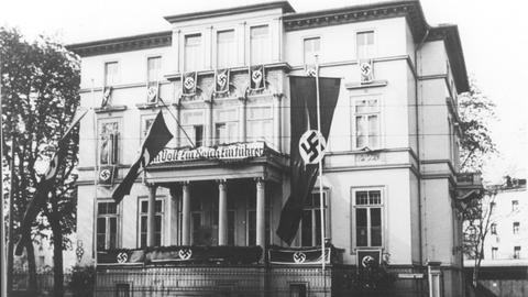 Das hr-Funkhaus in der Eschersheimer Landstraße