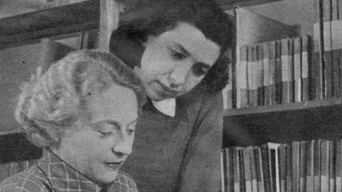 Josefine Klee-Helmdach (links) und Editha-Maria Baum