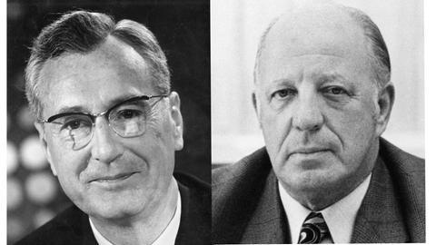 Eberhard Beckmann und sein Nachfolger Werner Hess