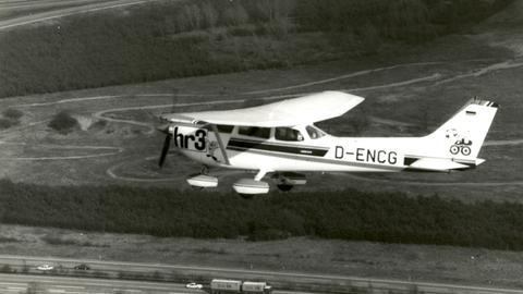 Neues Flugzeug zur Verkehrsbeobachtung: Die hr3-Biene