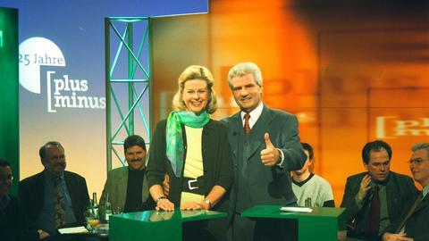 Sabine Gaschütz (SWR) und Frank Lehmann (hr)