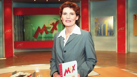 Moderatorin Sabine Elke