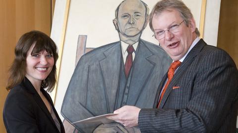 Katja Nitschke und Heinz Sommer