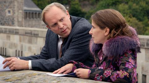 Ulrich Tukur und Barbara Philipp