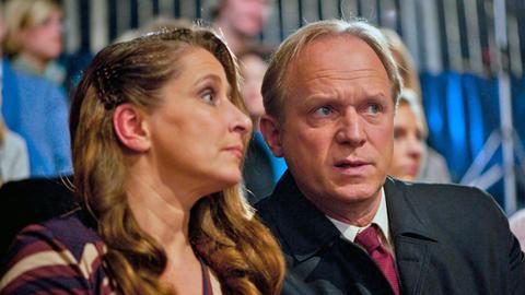Barbara Philipp und Ulrich Tukur