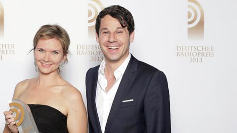 Emily Kavanaugh und Johannes Sassenroth