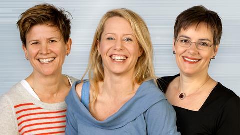 Katrin Schmick, Simone von der Forst und Karen Fuhrmann