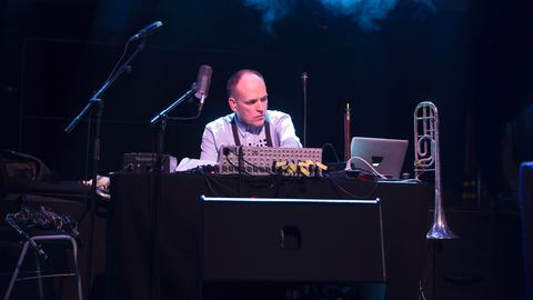 Alfred 23 Harth beim Jazzfestival