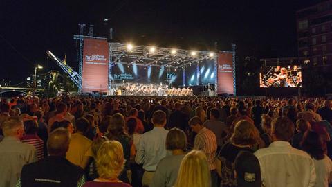 Open-Air-Konzert des hr-Sinfonieorchesters und der hr-Bigband