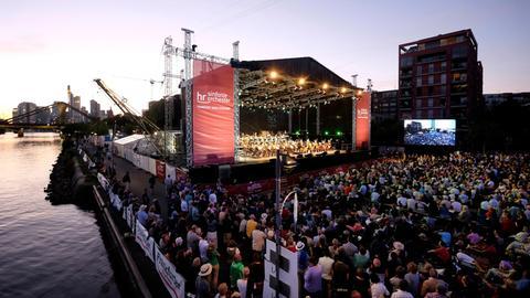 Open-Air-Konzert des hr-Sinfonieorchesters