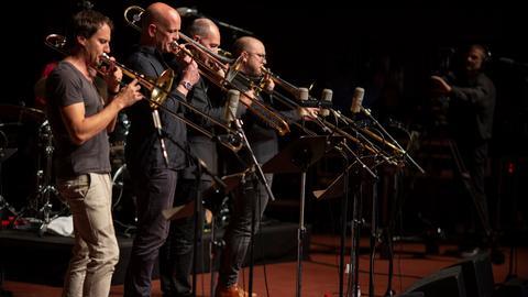 Musiker beim 49. Deutsches Jazzfestival Frankfurt 2018