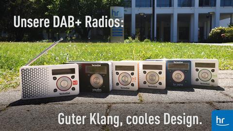 Radios im Freien