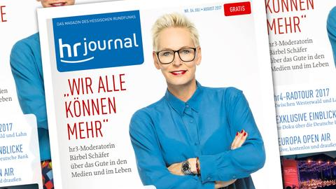 hr-Journal Ausgabe Juli/August