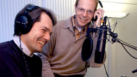 hr-Kirchenredaktion: Klaus Hofmeister und Lothar Bauerochse