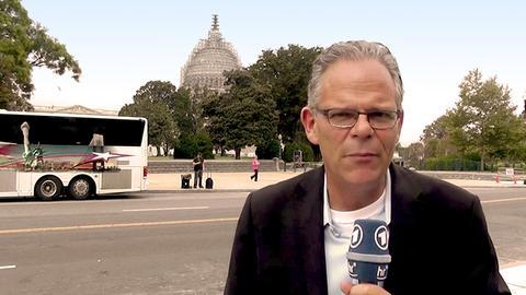 hr-Auslandskorrespondent Andreas Horchler, HR Washington
