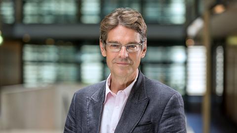 Andreas Reuter im ARD-Hauptstadtstudio