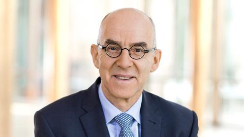 Berthold Tritschler, Betriebsdirektor und stellvertretender Intendant des Hessischen Rundfunks