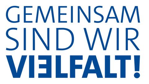 """ARD-Diversity-Logo """"Gemeinsam sind wir Vielfalt!"""""""