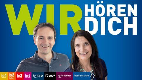 Doris Renck und Gunnar Töpfer; Wir hören Dich - November 2020